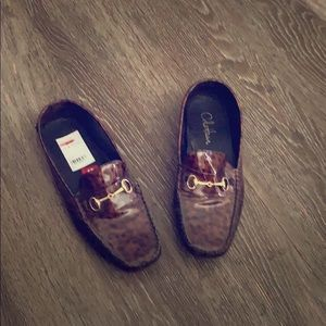 Cole Haan Tortoise  Driving Loafer